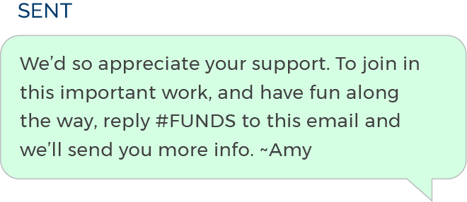 Use SMS Messages to Engage Donors in Fundraising 3