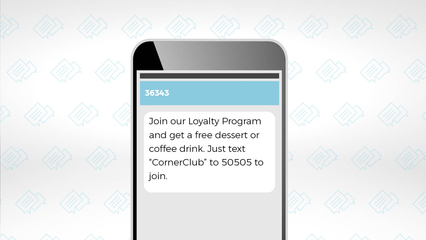 Create Customer Loyalty with SMS Messages 1
