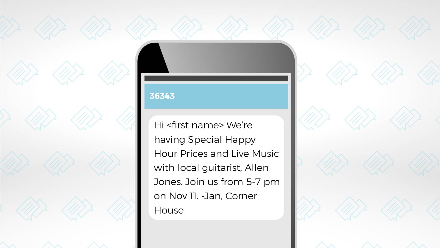 Create Customer Loyalty with SMS Messages 5