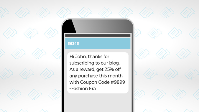 How to Use SMS Messages to Engage Customers 1