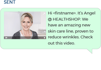 Use SMS Messages to Promote Personal Health Products 1