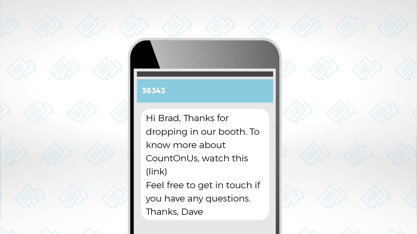 Use SMS Texting to Optimize Your Dreamforce Follow-up 1