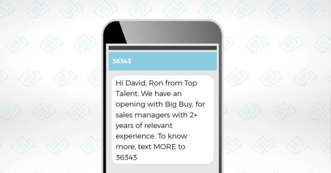 SMS Texting: A Recruiting Strategy to Reduce Time-to-Hire 1